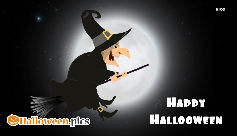 Happy Halloween Witch Images